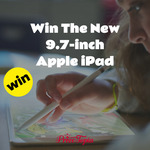 """Win a 6th Gen 9.7"""" iPad with Pencil from Prizetopia"""