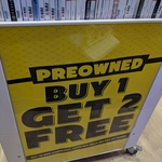 Preowned Titles - Buy 1 Get 2 Free at EB Games