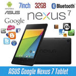 Refurbished ASUS Google Nexus 7 Tablet 2013 (2nd Generation) 32GB Wi-Fi $85.45 @ Ozbuyitnow eBay