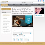 Up to 30% off Business Class Fares with Oman Air. e.g. Jakarta -> Milan ~$1300