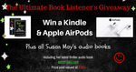Win the Ultimate Book Listener's #AmReading Giveaway from Author Susan May