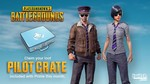 Free PUBG Pilot Crate with Twitch Prime