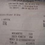 Telstra Alcatel 1X Grey 4G Prepaid Mobile Phone $69.00 @ Woolworths