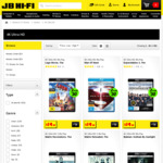 4K UHD /Blu-Ray 2 for $30 and 2 for $40 at JB Hi-Fi