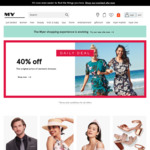 40% off All Van Heusen Clothing @ Myer