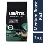 ½ Price Lavazza Coffee Beans or Ground 1kg $15 @ Coles
