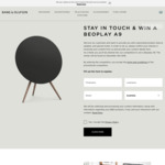 Win a Beoplay A9 Multiroom Wireless Speaker Worth $3,465 from Bang & Olufsen