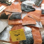 [QLD] Salmon Fresh Skin on $14.50/kg @ Coles Woolloongabba Bris