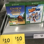 Target - [PS4/XB1] Stardew Valley Collector's Edition - $10, [XB1] Super Lucky's Tale - $10 (in-Store Only) + Other Games