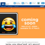 Win an iPhone Xs Max & an Emoji Merchandise Pack from PPQ [QLD Residents with Valid CRN (Driver's License Number)]