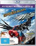 Spider-Man - Homecoming 3D Blu-Ray - $6.82 + Delivery (Free with Prime/ $49 Spend) @ Amazon AU