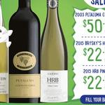 Petaluma 2003 Coonawarra $50/bt, Knappstein 2015 Riesling & Hardys HRB 2015 Pinot Gris $22/bt (All 6pks) @ Cellar One [Members]