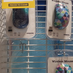 J Burrows Wireless Mouse - Ripple (Includes 2 AAA Batteries) $1 @ Officeworks