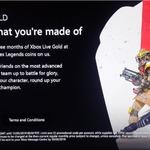 Xbox Live Gold - Extend 3 Months for AU $14.98 (50% off) and Get Bonus 1000 Apex Legends Coins @ Microsoft AU