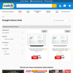 AU Stock [Club Catch + UNiDAYS] Google Home Hub $142.20 Delivered @ Catch