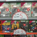 [NSW] Xbox 360 Games: Pre Owned $1 and New $5 at JB Hi-Fi (Moore Park)