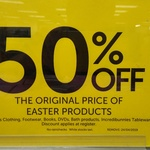 50% off Original Price Easter Chocolates & Products @ Target