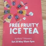 [NSW] Free Fruity Ice Tea @ Chatime, Ashfield