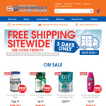 Free Shipping Sitewide ($20 Min Spend) @ Good Price Pharmacy Warehouse