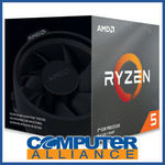 AMD Ryzen 5 3600x $350.10 + Delivery (Free with eBay Plus) @ Computer Alliance eBay