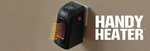 Handy Heater Plug-in Personal Heater 1 for $24 (Was $80) + Shipping or 2 for $40 + Free Shipping @ TV Shop