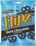 75% off - McVitie's Flipz Dark Choc Pretzels 140g $1.00 @ Woolworths