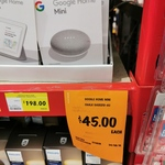 [SA] Google Home Mini $45 @ Bunnings, Edwardstown
