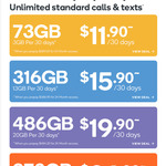 Kogan 24 Month Prepaid Mobile Plans: Small $290, Medium $387, Large $484, Extra Large $606 (Existing Customers Only)