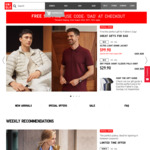 Free Standard Shipping Until 22 August with Code @ Uniqlo