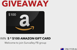 Win 1 of 5 $100 Amazon AU Gift Cards from TaoTronics