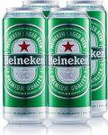 Heineken Premium Lager 4x 500ml Cans for $9.99 @ ALDI (Special Buys)
