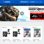 [PS4, XB1, Pre Order] Tom Clancy's Ghost Recon Breakpoint for $19 When You Trade-in Two Eligible Games @ EB Games