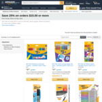 25% off BIC Stationery (Min Spend $15) + Delivery ($0 with Prime / $39 Spend) @ Amazon Australia
