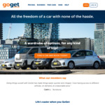 [VIC] GoGet 10% off Any Hatch or SUV Booking (Melbourne)