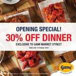 [NSW] 30% off Dinner @ Gami Chicken and Beer Sydney CBD