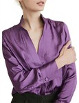 Witchery Gather Front Shirt - $9.95 (Was $99.95) + Delivery or Free C&C @ David Jones