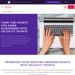 Earn up to 200 Bonus Velocity Points for Every 2,000 Flybuys Points Transferred, When You Shop with Selected Flybuys Partners