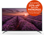 "TCL P8M UHD TVs - 43"" $388 | 50"" $399.20 | 55"" $528 | 65"" $756 | 55X7 QLED $952 (+Cashback) + Postage @ Appliance Central eBay"