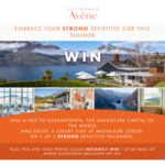 Win a Holiday in Queenstown & Avène Strong Sensitive Pack Worth $8,618 +/- 1 of 90 Avène Sun Care Prizes from Pierre Fabre