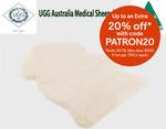 Ugg Australia Medical Sheepskin Extra Large Natural Colour $120 Delivered @ Dhimanvinod via eBay