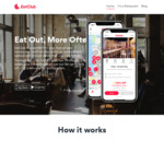 [QLD] 500 Free Burgers @ Johnny Rockets or Miss Demeanour for New Customers via Eatclub App (Brisbane)