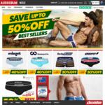 Up to 50% off (e.g.  50% off  Titanium Underwear $10.98, 40% off Classic Original $11.97) @ aussieBum