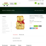 [VIC] Lindt Bear and Friends Chocolate 438g, $24 @ Grooferly Foods