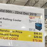 [VIC] Igloo Maxcold Rolling Cooler 58L $79.99 (Was $99.99) @ Costco, Epping (Membership Required)