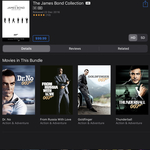 James Bond Collection $99.99 on iTunes (All 24 Movies in 4K)