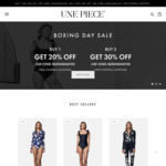Get 30% Off Sitewide + Free Express Shipping | Boxing Day Sale @ UNE PIECE