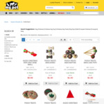 75% off Christmas Stock (Dog Toys/Treats From $1, Cat Toys From $2.49, Bird Toys From $3.74) @ My Pet Warehouse