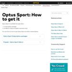 $5 Optus Sport Add-on (28 Days) for Prepaid Customers via My Optus App