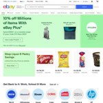 10% off Millions of Eligible Items (Min Spend $100) @ eBay