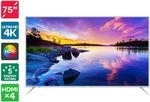 """Kogan 75"""" 4K HDR LED TV (Series 8 JU8100) $1149 + Delivery @ Kogan"""